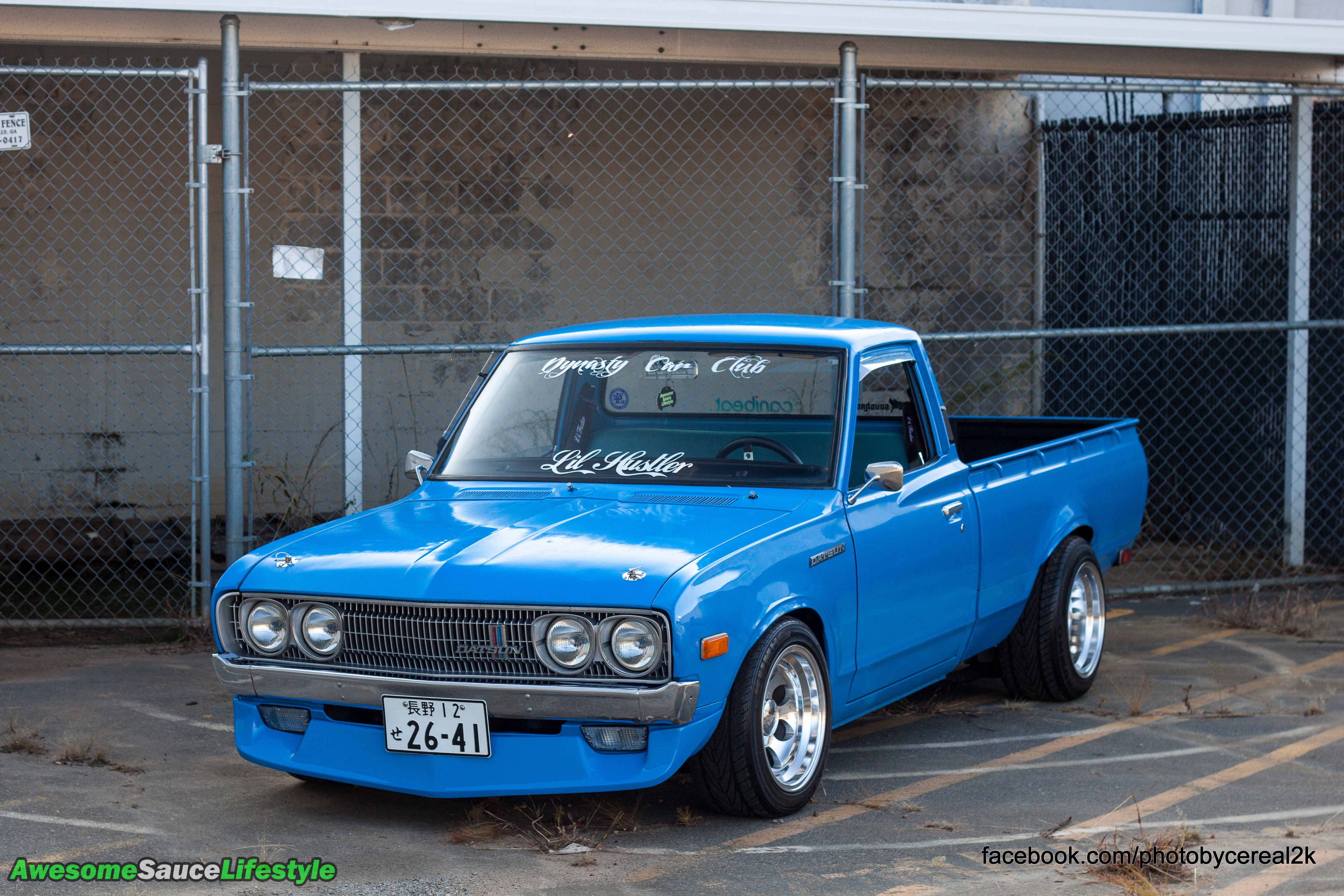 feature 1974 nissan datsun pickup truck awesomesaucelifestyle. Black Bedroom Furniture Sets. Home Design Ideas